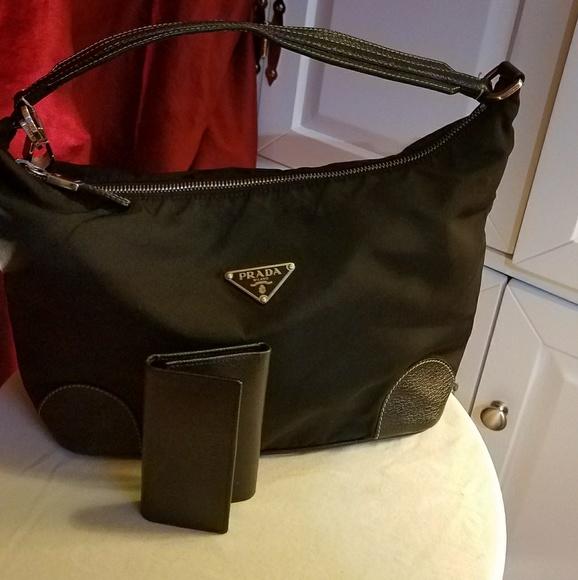 80c9851fd09f Prada Bags | On Sale Authentic Bag With Key Wallet | Poshmark